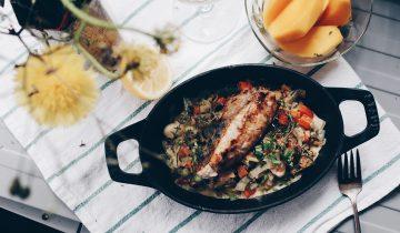 Monkfish Mussel Vegi Stew