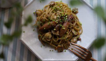Seaweed Soy Spaghetti