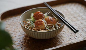 Saucy Scallop Noodle